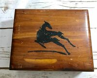 Antique Vintage Wood Wooden Dresser Box