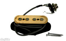 """""""Electric Delta"""" 4 string Pre-Wired Cigar Box Guitar Pickup with Volume & Tone"""
