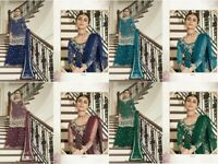 Anarkali Salwar Kameez Indian Pakistani Suit Ethnic Designer Bollywood Dress FM