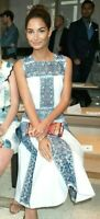 New NWT $1595 Tory Burch Racquel Broderie Anglaise Lace Embroidered Midi Dress 2