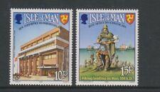 Île de Man - 1983, Monde Communications An Ensemble - MNH - Sg 255/6