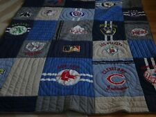 Pottery Barn Teen MLB Cooperstown Twin Baseball  league quilt  New wo tag