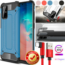 For Samsung Galaxy S 20 10 9 8 Plus Ultra Shockproof Case Cover+ One Cable(6ft)