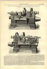 1893 Ohio Machine Works MOTOR GEAR torni