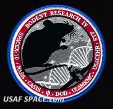 Rodent Research 4 - SPACEX FALCON 9 - NASA AMES DOD SPX-10 ISS CASIS PATCH