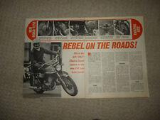 UK 1969-1972 Indicator Lens Amber 2T Rear Left Each Suzuki T 350 Rebel