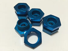 Aluminum Wheel Adapter 23mm Hex for Savage XL 2.5 4.6 SS Blue !