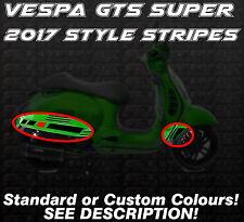 Vespa GTS Super 2017 style Decal Stickers Stripes Gran Turismo 125 250 300