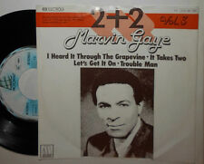 "MARVIN GAYE 2 PLUS + 2 VOL 1 (GRAPEVINE, IT TAKES TWO, LET'S GET...ON) 7"" SINGLE"