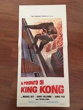 locandina,S11,Il trionfo di King Kong,Nakajima,tai Gojira,Ishiro Honda,Godzilla