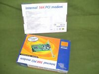 Scheda PC INTERNAL 56K PCT Modem -vintage-