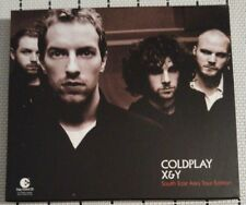 COLDPLAY X&Y RARE South East Asia Tour Edition CD + DVD