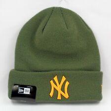 New Era Cap Men's MLB New York Yankees Team Rifle Green Winter Knit Beanie Hat