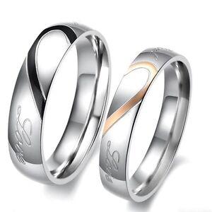 2 Partner Ringe Eheringe Partnerringe Verlobungsring Freundschaftsring Trauring