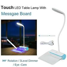Portable Touch Control Night Light Table Lamp Fluorescent Message Board Book