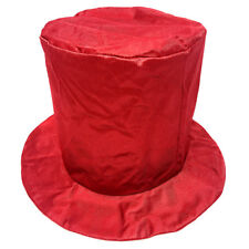 820721e4fd30f Child Shiny Red Top Hat Fun Halloween Costume Year s Birthday Party
