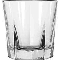 Double Old Fashioned Rocks Whiskey Scotch Glasses 12 oz -Set of 4-Heavy