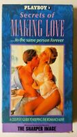 PLAYBOY Secrets of Making Love To The Same Person Forever (VHS video – 1991)