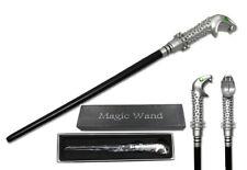 "14"" Harry Potter Lucius Malfoy Magic Wand Wizard Cosplay Costume Xmas Halloween"