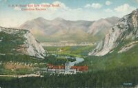 BANFF AB – C.P.R. Hotel and Bow Valley Canadian Rockies