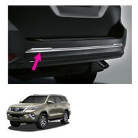 Rear Bumper Trim Genuine Chrome Cover Fits Toyota Fortuner Suv 2015 2018
