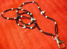 Heartline Bears and Turquoise Lanyard Necklace - Native American Indian