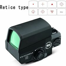New Hunting Tactical Rifle Scope Red Green Dot Sight LCO Reflex Military Scopes