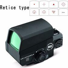Caza rifle alcance óptica LCO Reflex 1X Verde Visor de punto rojo mate 1 MOA punto