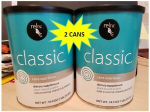 Reliv Classic - 2 Cans - October 2022 Expiration