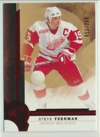 2016-17 Artifacts Ruby Red 131 Steve Yzerman /299 Detroit Red Wings