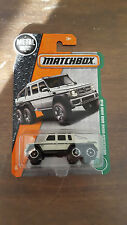 Matchbox Superfast 2017 Case G #91 Mercedes Benz G63 AMG 6x6
