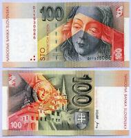 SLOVAKIA 100 KORUN 1993 P 22 UNC