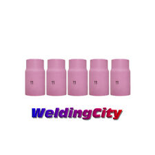 5-pk TIG Welding Ceramic Gas Lens Cup 54N19 #11 Torch 17/18/26 | US Seller Fast