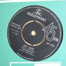 "THE BEATLES Hey Jude / Revolution UK export 7""  Parlophone DP 570 1968"