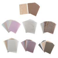 15/30Sheets Decorative Scrapbook Paper DIY Art Card Making Folding Paper Craft