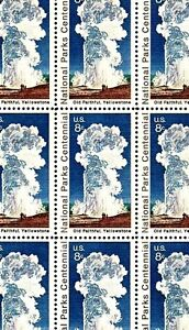 1972 - YELLOWSTONE PARK - #1453 Full Mint -MNH- Sheet of 32 Postage  Stamps