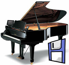 Classical Journey Piano Music Collection for most Disklavier - 5 Floppy Disks.