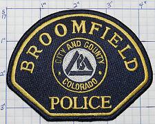 COLORADO, BROOMFIELD POLICE DEPT VERSION 2  PATCH