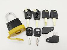 8key Padlock Pad Lock Key For Caterpillar CAT 5P8500 5P8501 246-2641 8389 8H5306