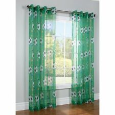 """Legacy Kids Commonwealth Soccer Grommet Curtain 52"""" x 84"""" Panel NIP Sold Out"""