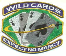 SPACE ABOVE AND BEYOND WILDCARDS  PATCH - SAAB01