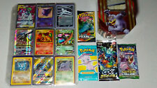 Vintage & New Pokemon Binder Tin 500+ Card Collection Lot Chardizard Rares Holos