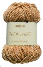 Sirdar Soukie DK Shiny Sparkle Sequin Knitting Wool Yarn 50g Into The Sun 170
