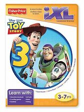 FISHER PRICE iXL LEARNING SYSTEM SOFTWARE TOY STORY 3 R9705  *NEW*
