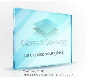10mm/12mm/15mm/19mm Toughened glass panels