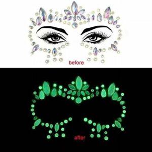 Jeweled Temporary Face Sticker - Luminous