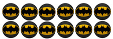 Batman Edible Image Cupcake Toppers 12x 3cm #49