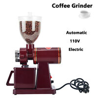 Automatic Electric Burr Coffee Bean Grinder, 8 Levels of Thickness Adjustment