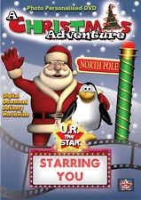 My Christmas Adventure Personalised Movie starring YOU!! Digital Download $39.95