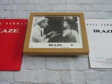 Framed Lobby card Press kit & Promo Photo BLAZE PAUL NEWMAN